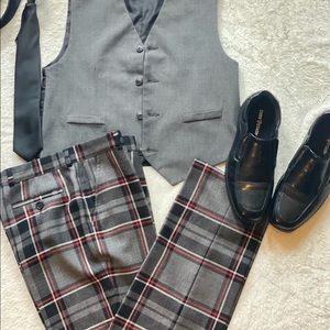 Brooks Brothers Boys Pants plaid tartan